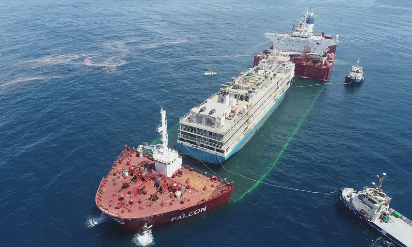 Barkly Pearl banned from Australia for 24 months