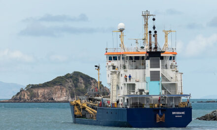 Maintenance dredging completed at Mackay