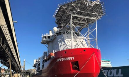 Antarctic shipping season arrives with ice-class vessel