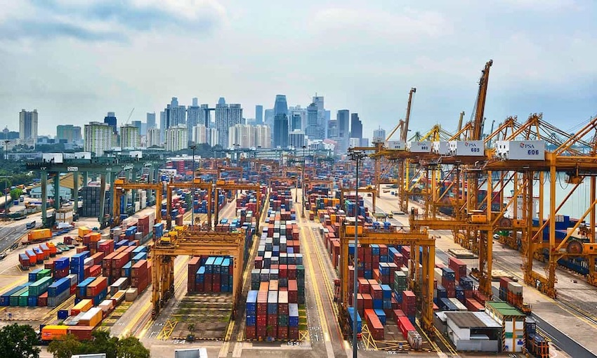 Singapore port authority increases volume by 1.7% year-on-year