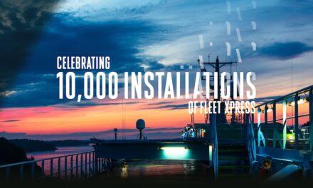 Inmarsat passes 10K vessel Fleet Xpress installations