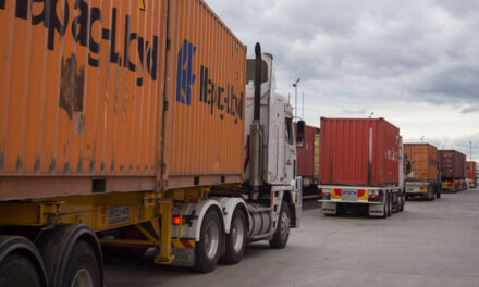 Melbourne road work exacerbates container freight challenges