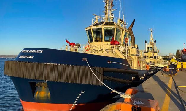 Second new tug arrives at Geraldton