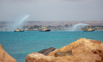 First of three Svitzer tugs arrives at Geraldton