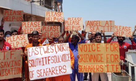 Abandoned seafarers on hunger strike at Kuwaiti port