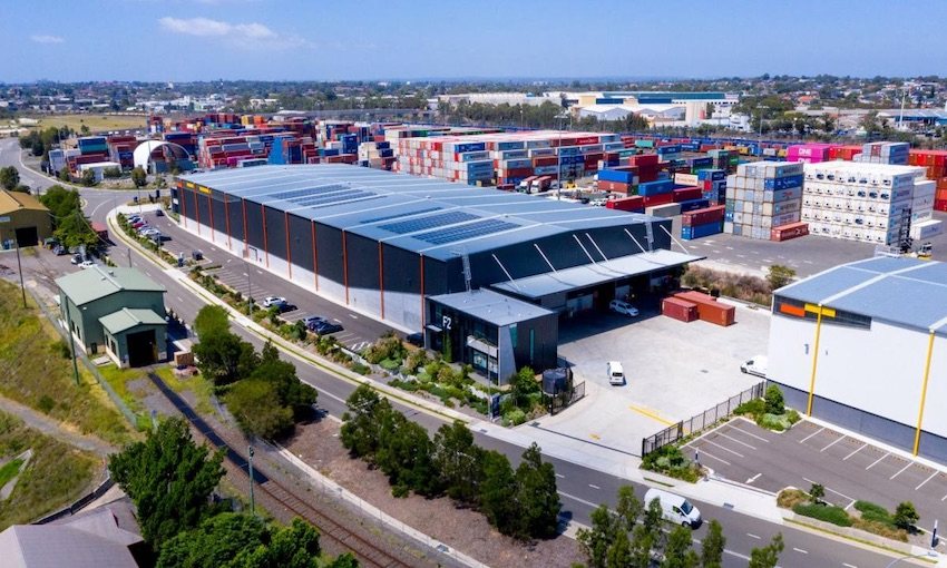 Industrial buildings awards for Enfield Intermodal Logistics Centre