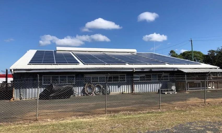 New solar installation at the Port of Bundaberg