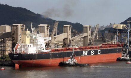 MSC salutes Anastasia seafarers' return
