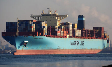 Another Maersk ship loses containers overboard in Pacific