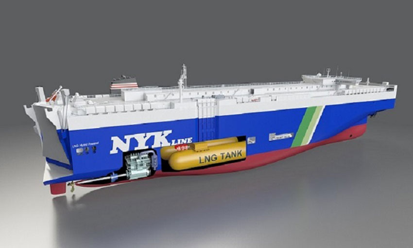 NYK to build four LNG-fuelled ships
