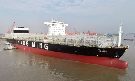 Yang Ming takes delivery of 11,000-TEU ship