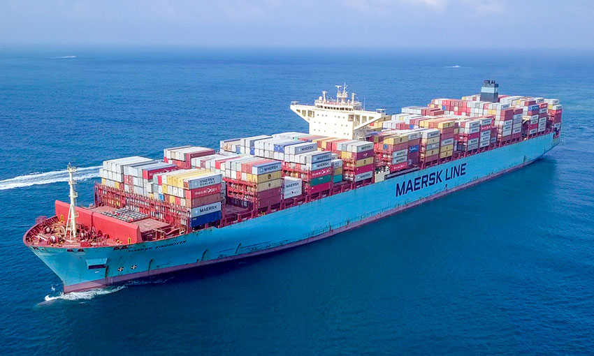 Maersk Eindhoven headed to Yokohama after 260 containers go overboard