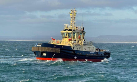 Third and final new tug arrives at Geraldton