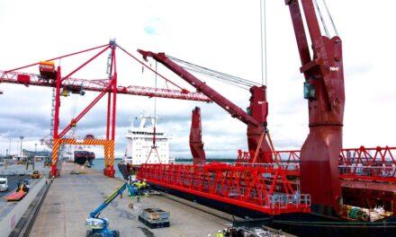 New Liebherr crane for Patrick terminal