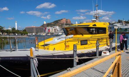 Mantaray pilot cutter joins the Townsville fleet