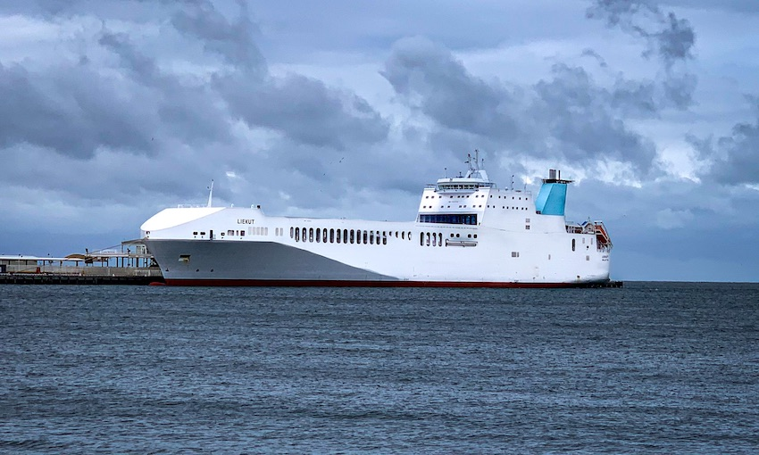 SeaRoad's MV Liekut arrives in Australia
