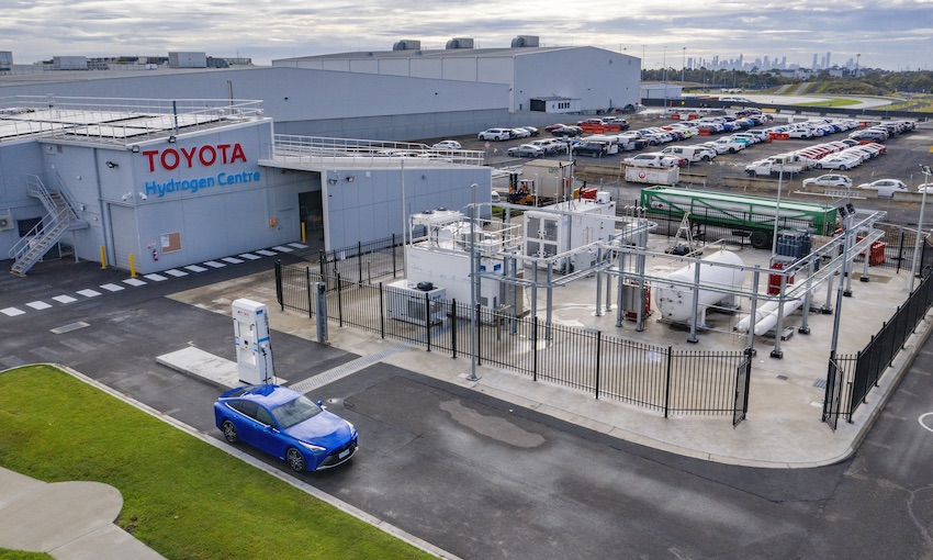 Hydrogen fuel at scale in Victoria