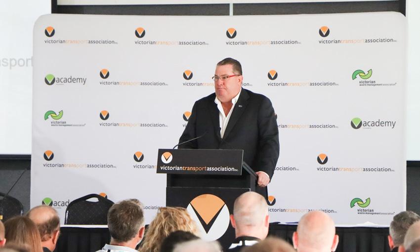 Buchholz speaks at VTA conference