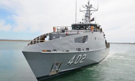 Austal Australia delivers ninth Guardian-class patrol boat