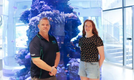 NQBP and JCU team up for reef science scholarship