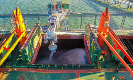 Barney Point Terminal exports first big limestone cargo (WITH VIDEO)
