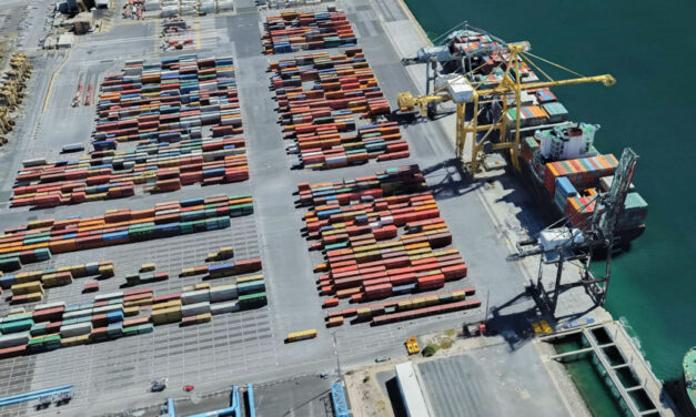 Full container throughput at Adelaide at multi-year low in September