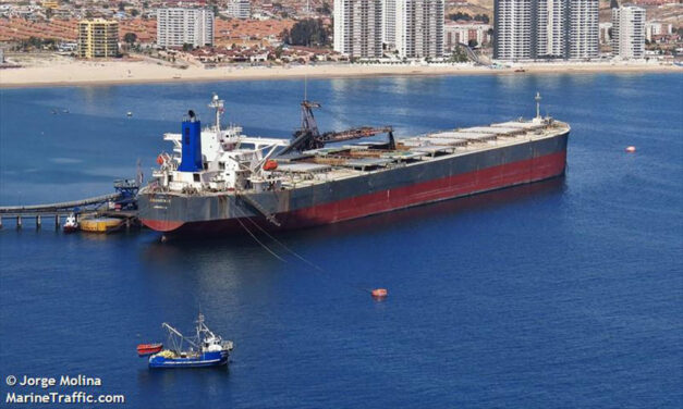 COVID-positive seafarer evacuated from bulker off WA