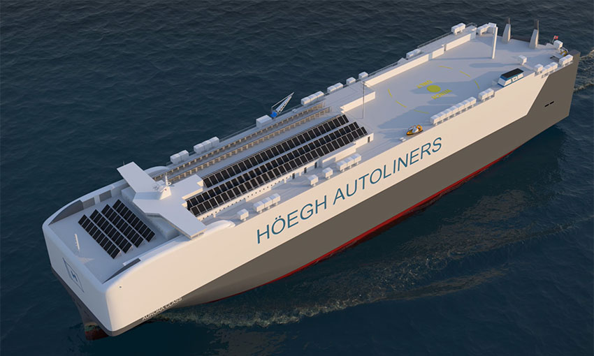 Höegh to design a greener car carrier