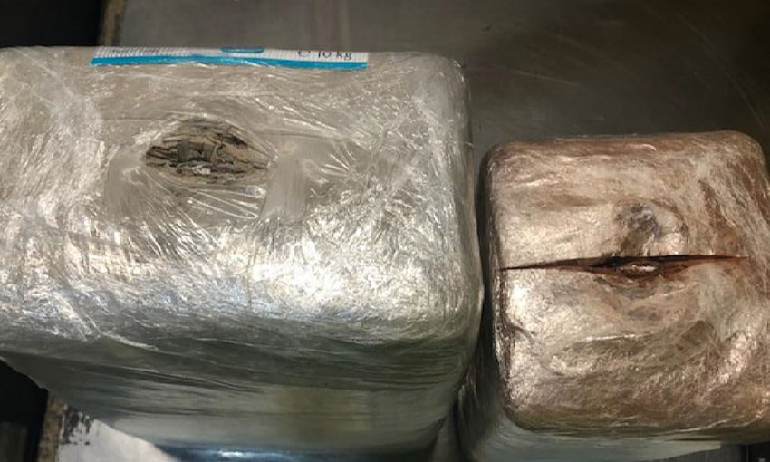 Charges laid in brick air-cargo cocaine bust