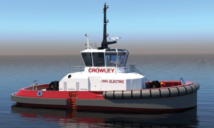 Crowley designs completely electric tug