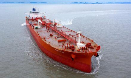 DNV awards first merchant vessel SILENT-E notation