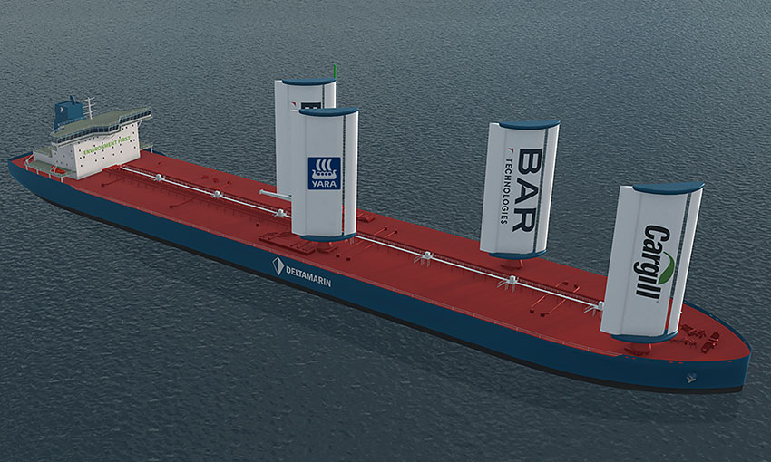 Wind propulsion for commercial vessels a step closer to reality