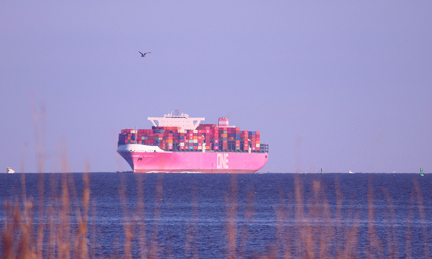 Shipping line partnering with business school to address environmental issues