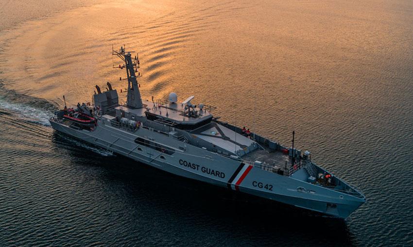 Austal Australia delivers two cape-class patrol boats