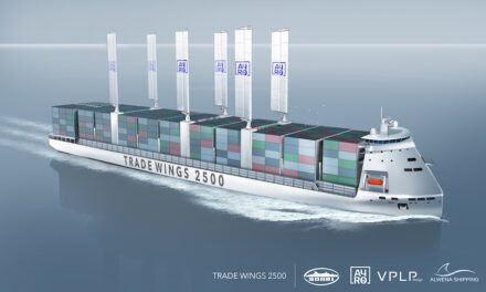 Wind-assisted LNG-electric concept ship gets approval