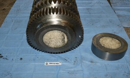 Man arrested over drugs hidden in helical gear drives
