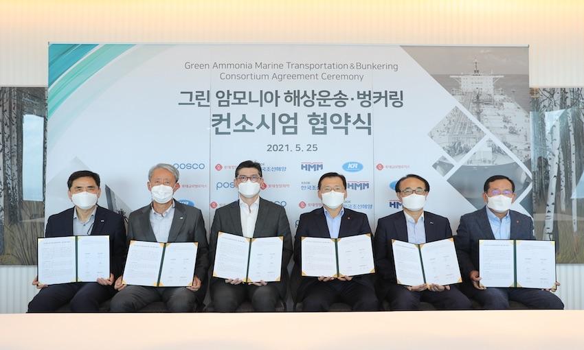 Korean consortium to explore green ammonia supply chain
