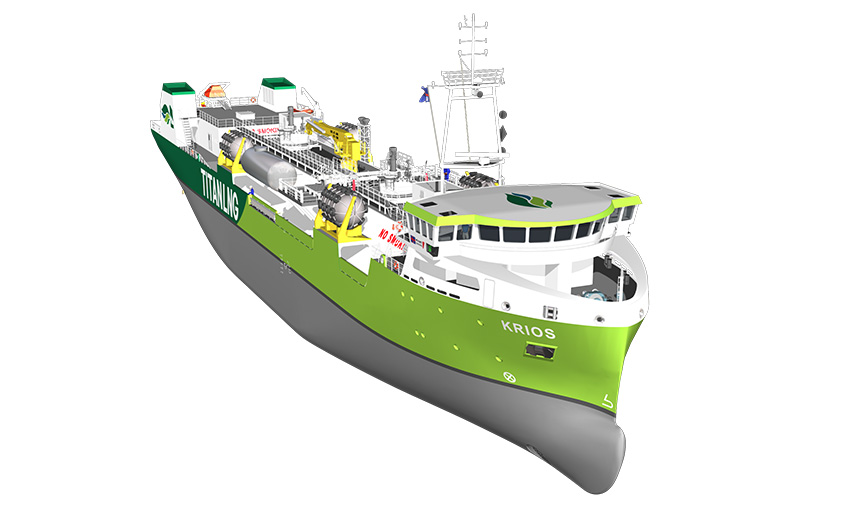 LNG supplier to build bunker barge