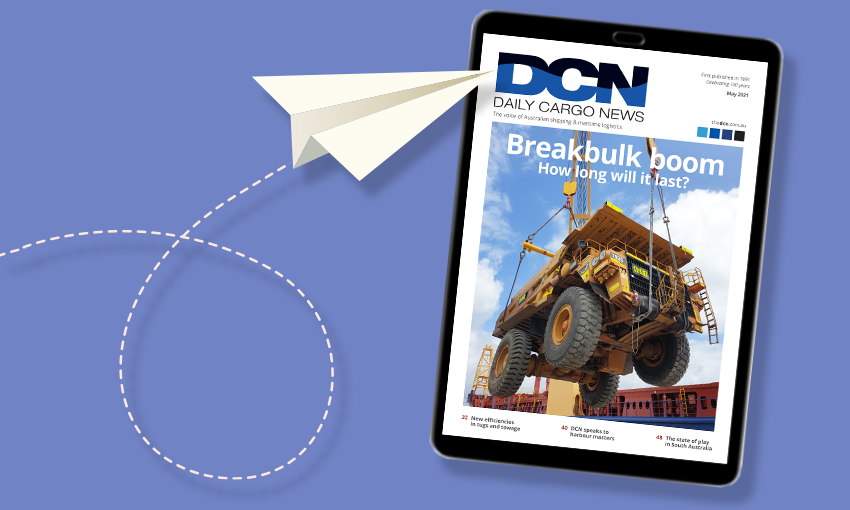 DCN Magazine May edition: Feature Focus – Breakbulk and Project Cargo