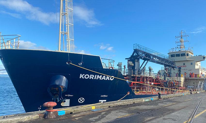 Bunker tanker arrives in NZ from Australia
