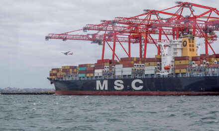 Container trade through Port Botany still on a high