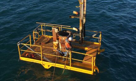 Regional port's beacon remediation project underway