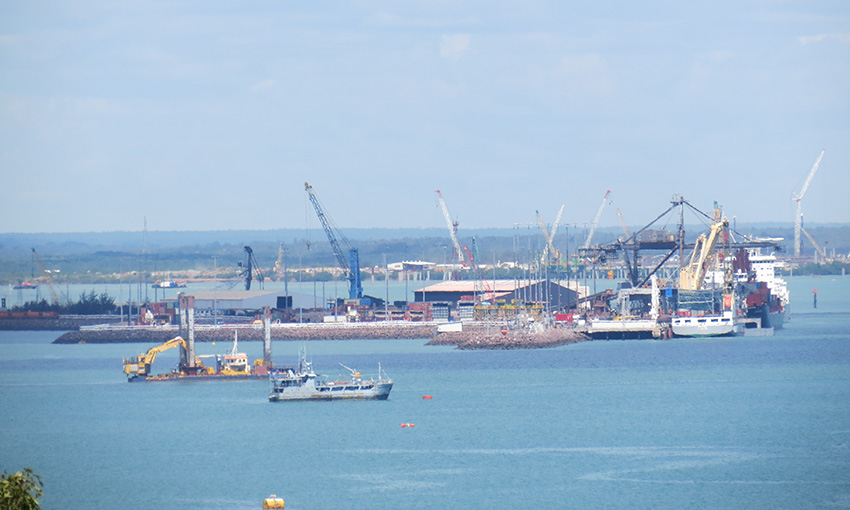 Lithium producer signs Darwin Port operating agreement