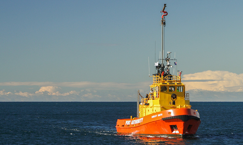 Port Authority of NSW's old firefighting vessel Shirley Smith
