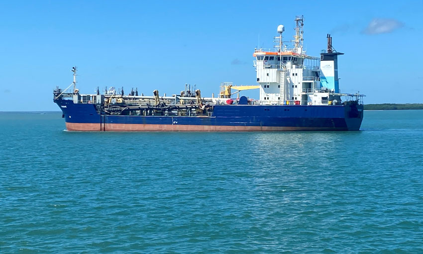 Weipa dredging done for the year