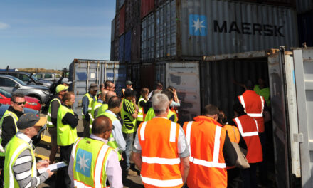 Empty container inspection standards updated and available