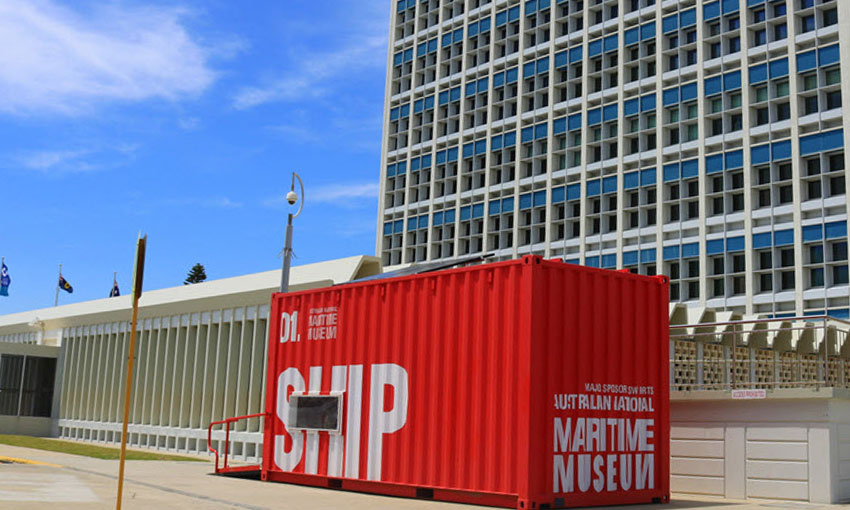 Container exhibition comes to Darwin