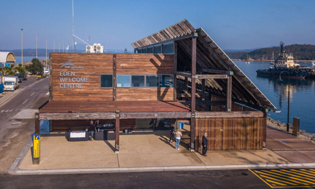 Cruise wharf welcome centre opens