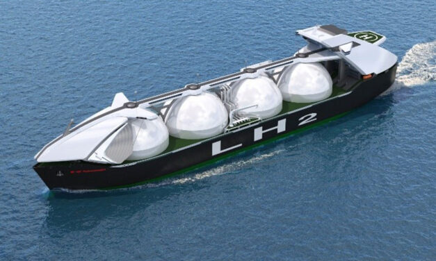 Liquified hydrogen cargo containment system approved in principle