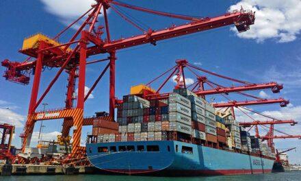 Container trade through Melbourne still on a high